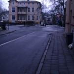 Wismar - Mecklenburger Straße Einfahrt in die Dr. Leber Straße