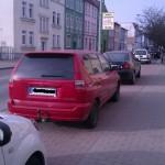 Radwege zu Parkplätzen
