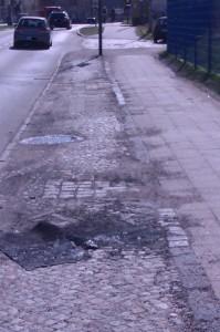 Die Stadt Wismar stufte diesen Radweg als Stand der Technik ein