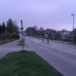 In Gegenrichtung ganz ohne Radweg