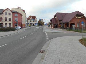 Neuer Radweg mit neuer Benutzungspflicht am Bahnhofsvorplatz