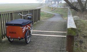 Fahrradbrücke repariert