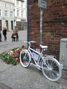 Ghostbike in Wismar